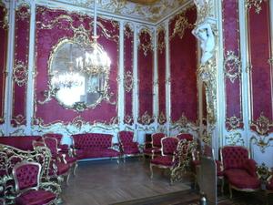 Красная комната в Эрмитаже