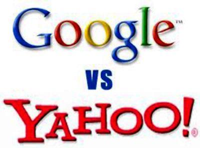 google vs yahoo microsoft facebook and