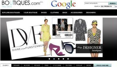 Новый сервис Boutiques от Google